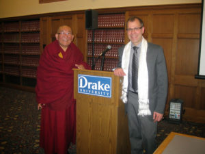 Professor Knepper with Arjia Rinpoche