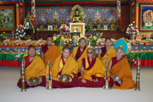 Tibetan Buddhist Monks from Labrang Tashi Kyil Monastery.